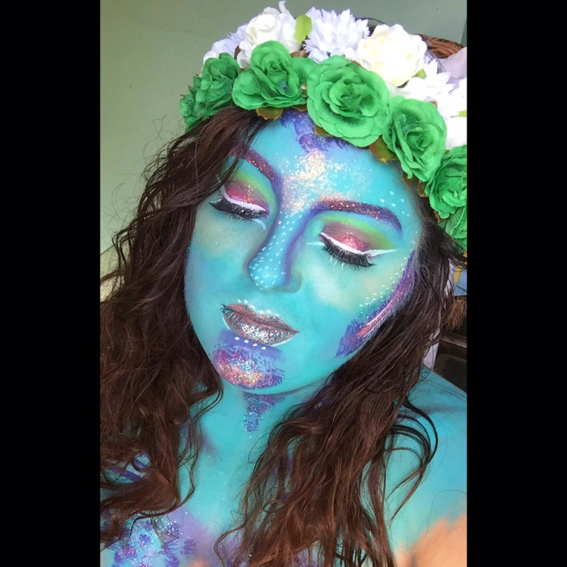 Fairy inspired look.